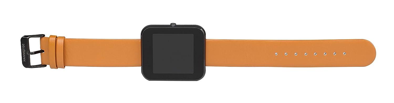 9356ef837 HANNSPREE 1.54-Inch LEGEND IPS OLED Smartwatch - Black: Amazon.co.uk:  Electronics