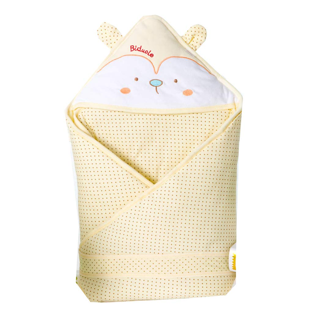 Baby Sleeping Bag, Cotton Autumn and Winter Thickening New Cartoon dot Baby Bag is Covered,B