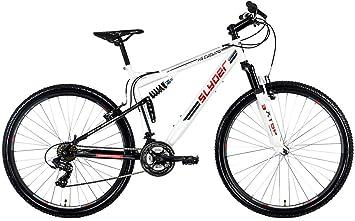 KS Cycling Bicicleta de montaña MTB Fully 29 Slyder en Blanco ...