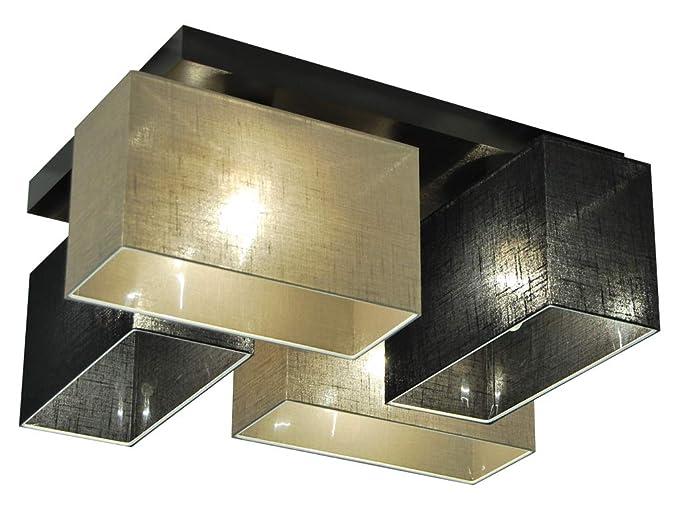 Plafoniere Per Tetto In Legno : Plafoniera illuminazione a soffitto jls41sc6d in legno massiccio