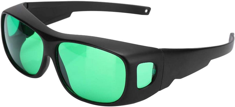 Gafas de cultivo Gafas de protección para interiores Bloquea todos los rayos UVA y UVB Gafas polarizadoras UV, para tiendas de campaña Invernadero Hidropónico Planta Luz Seguro para los ojos