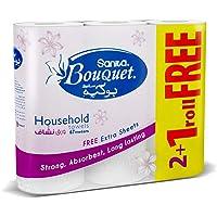 Sanita Bouquet Paper Kitchen Towel,28CM 2+1 FREE Roll