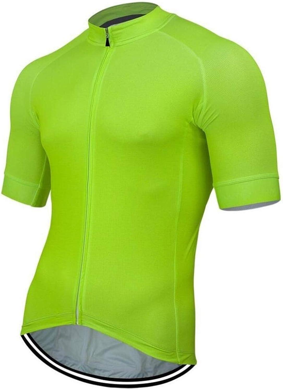 SYXYSM Ropa De Verano Nueva Jersey De Ciclo De La Bici del Camino De La Bicicleta De Montaña A Caballo Tops Ropa Bicicletas Fluorescente Negro Rojo De La Camisa Azul Verde Blanco