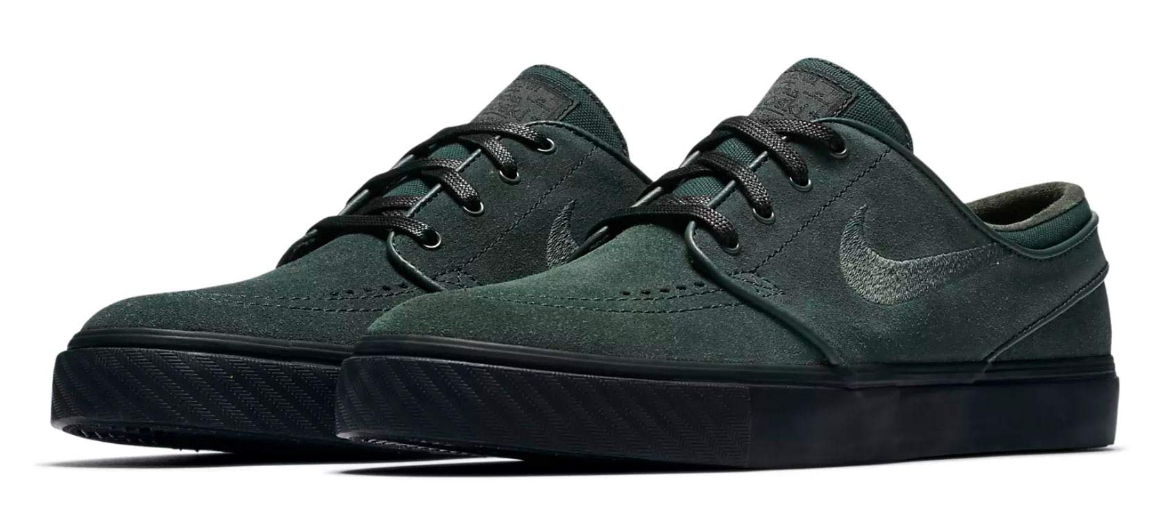 cheaper c5b70 abdf8 Galleon - Nike Men s Zoom Stefan Janoski Skateboarding Shoes (Midnight  Green Midnight Green, 11.5 D(M) US)