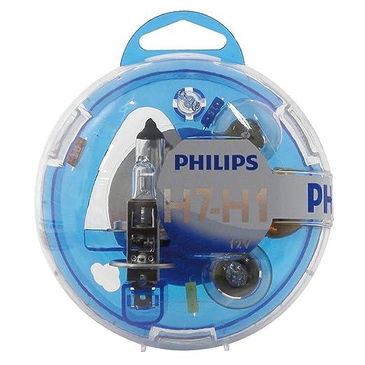 6 opinioni per Philips 55720EBKM- Kit lampadine di ricambio H1/H7