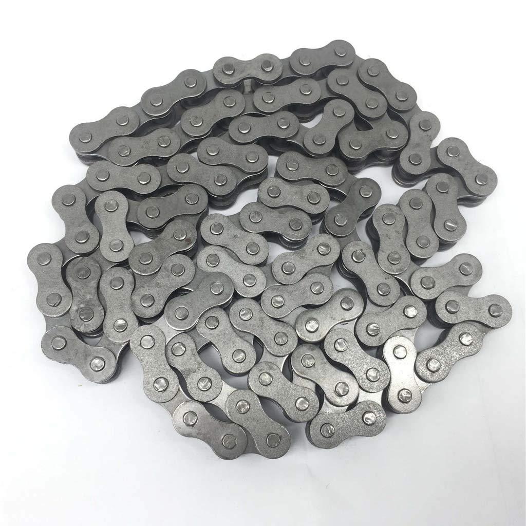 B Blesiya 415 110L Chain Links for 49 60 66 80cc Engine Motorized Bicycle Bike