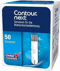 Bayer Contour NEXT Teststreifen 1x50 Stück