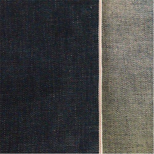 Deep Blue Cotton Slub Japanese Selvedge Denim, Fabric by The Yard - Japanese Denim Fabric
