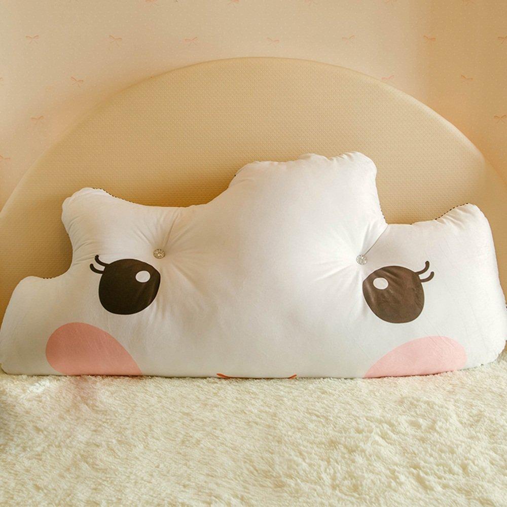 Double Triangle Bedside Backrest mats / children's bedside cushions / bedside large backrest / cute children's cushions ( Size : 18050cm )
