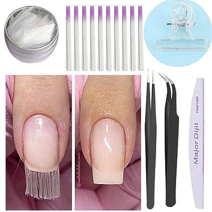 Tyrrdtrd - Extensión de uñas de fibra de vidrio para ...