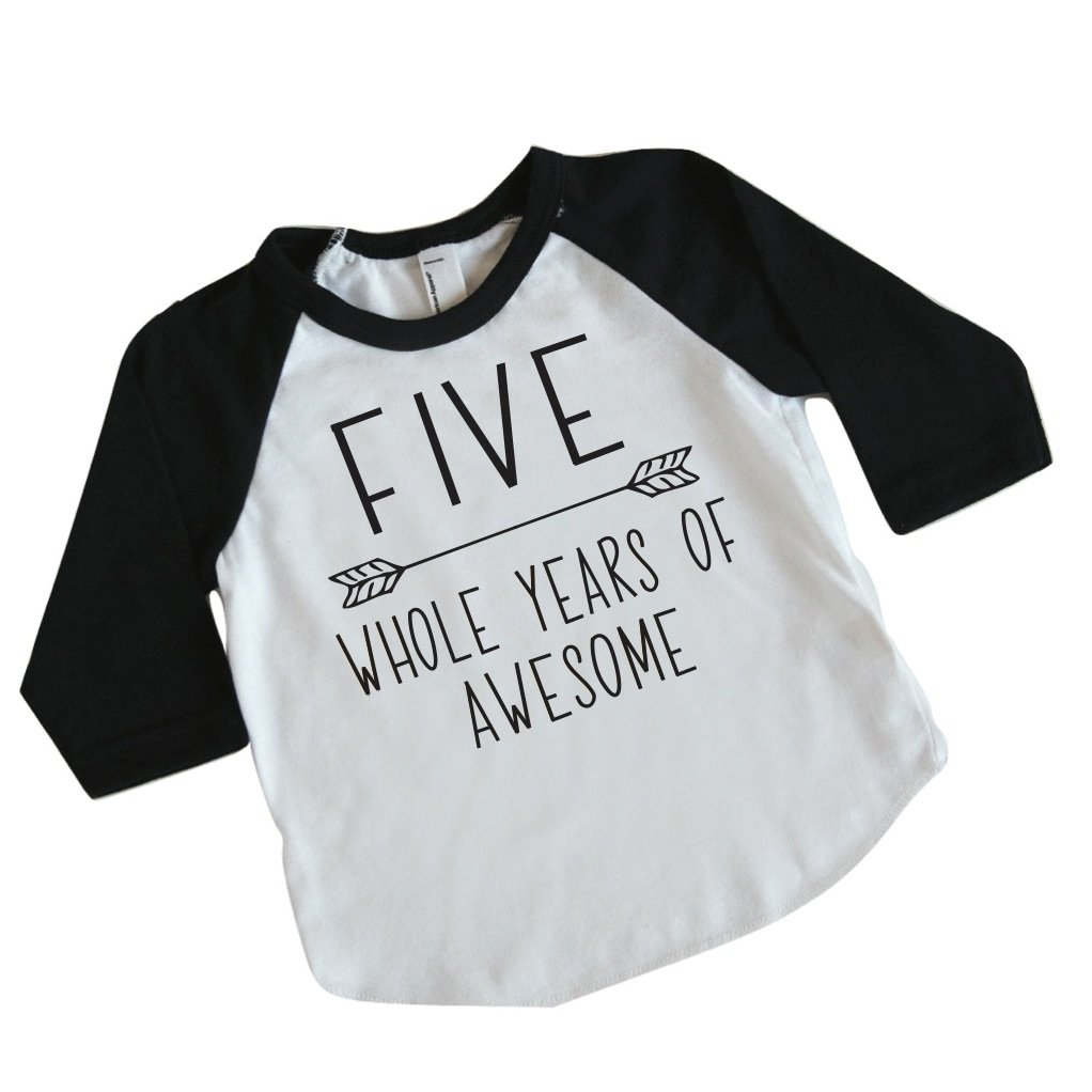 Amazon Bump And Beyond Designs Fifth Birthday Boy Outfit Five Year Old 5th Shirt Clothing