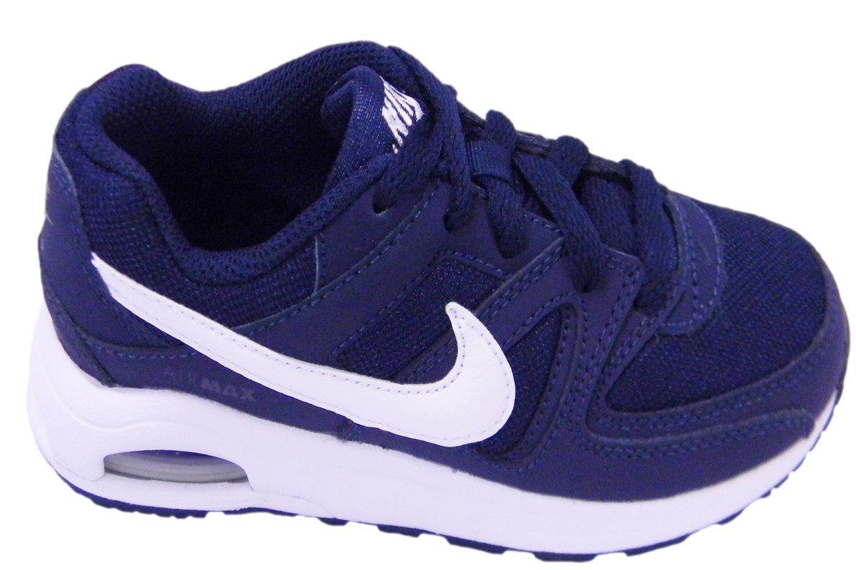 Nike Unisex-Kinder Air Max Command Flex (PS) Sneaker  28.5 EU|Bleu Marine