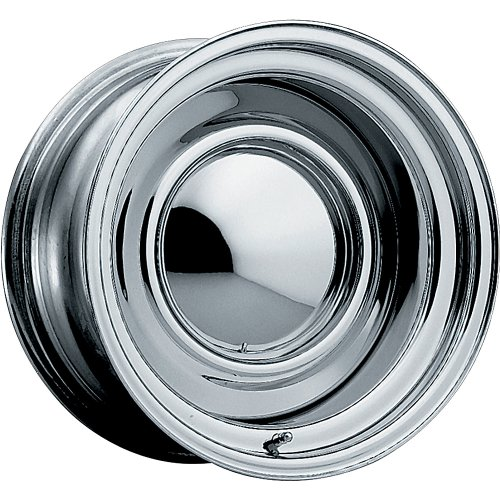 Pacer Smoothie 15×7 Chrome Wheel / Rim 5×4.5 & 5×4.75 with a 3mm Offset and a 81.00 Hub Bore. Partnumber 03C-5705P