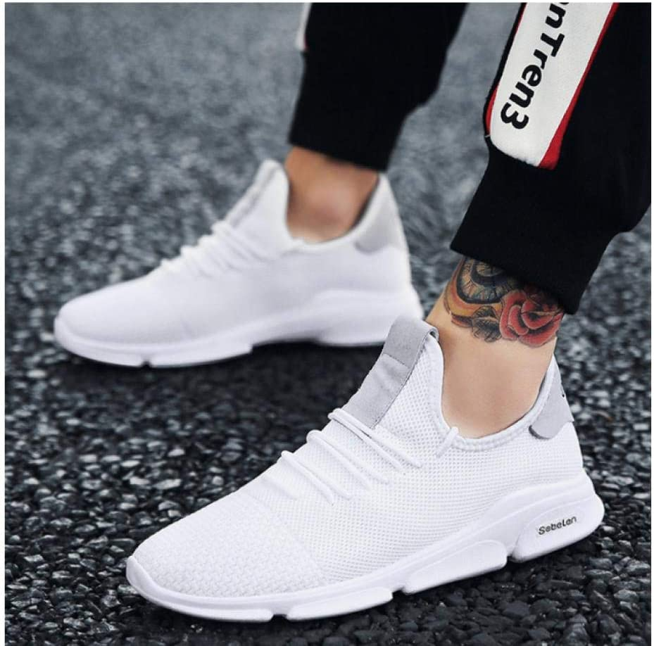 WAXFAS Classic Shoes Sports Ventilation Leisure Time Full Match Male Shoes Set Foot Coconut Male Train Trainer 37