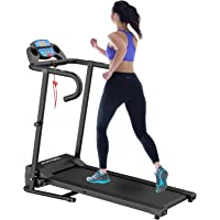 Murtisol 1100W Folding Treadmill Good for Home/Apartment Fitness Compact Electric Running Exercise Machine with Safe…