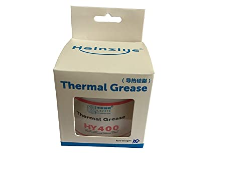 HK-part HY400 100g White Thermal Grease Paste Ultra High Performance Compound for CPU GPU VGA Chipset,Other PC Components