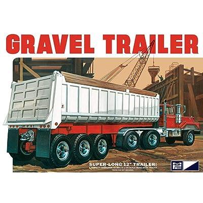 C.P.M. MPC 1:25 Scale Axle Gravel Trailer Model Kit (3-Piece): Toys & Games