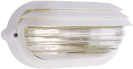colore Nero Papillon Plafoniera Ovale Maxi con Palpebra Paraluce