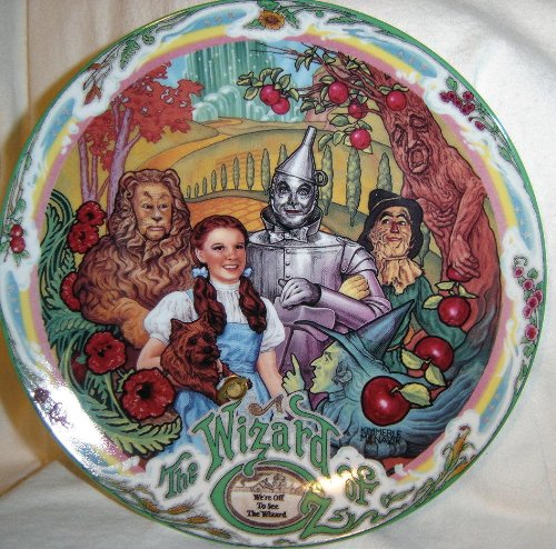 Wizard Of Oz Collectible Plates - 7