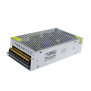 Amazon.com: ALITOVE 5V 40A 200W Power Supply Transformer Adapter ...
