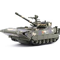 Vehículos Blindados Anfibios Modelo Tanque Fundido Azul, Escala