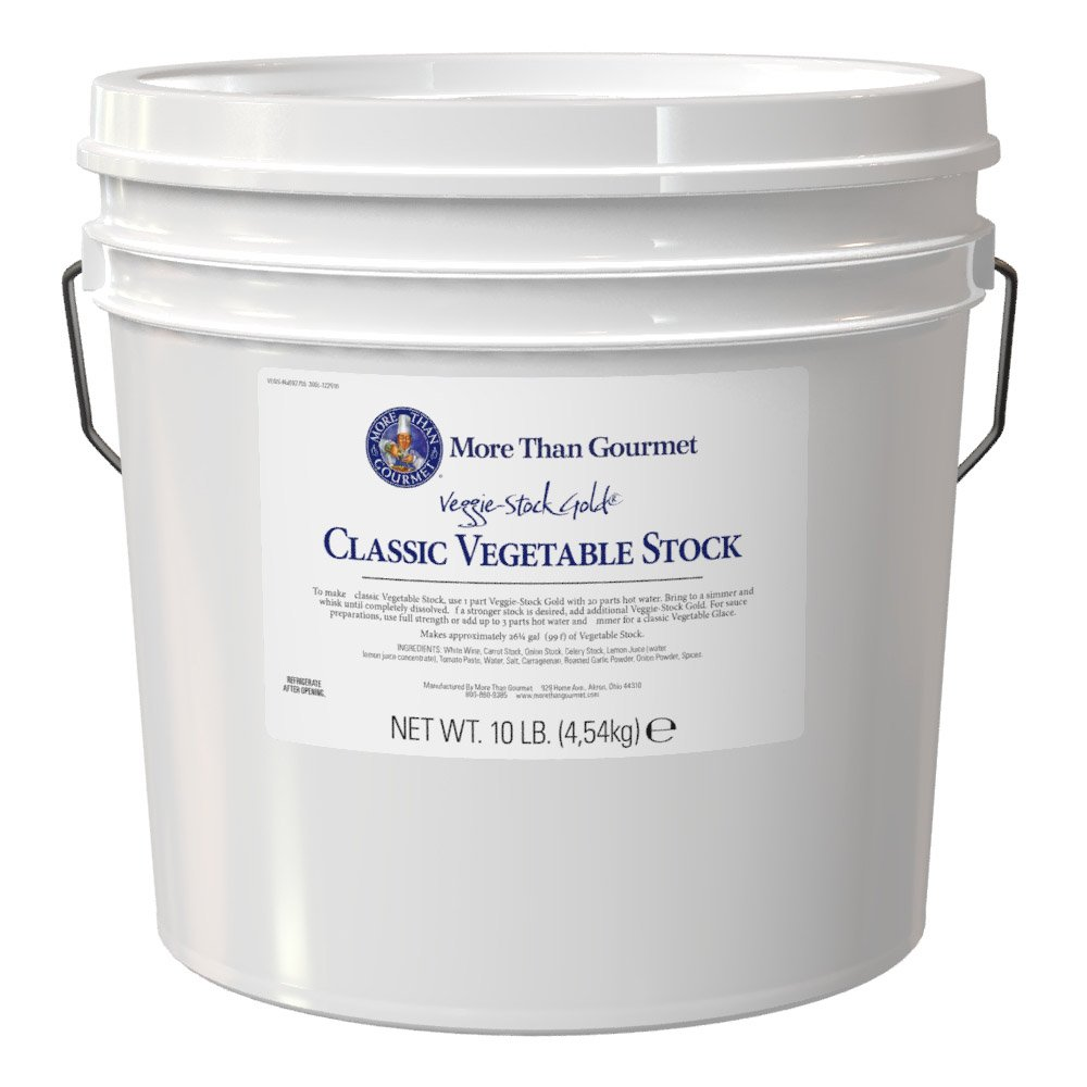 More Than Gourmet Veggie-Stock Gold, 160 Ounce by More Than Gourmet