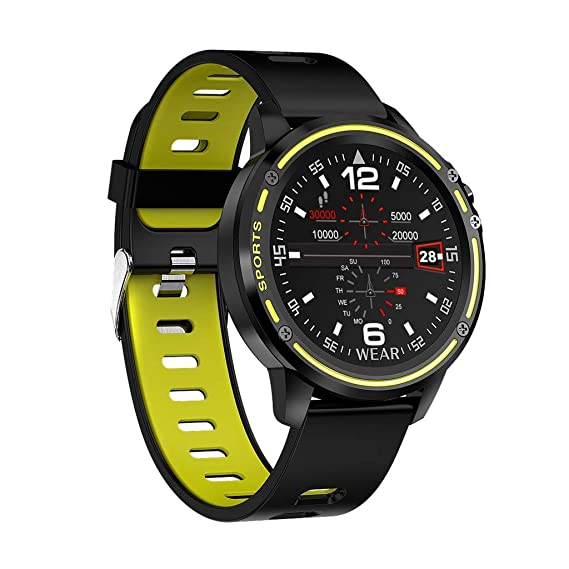 Smartwatch, 1.2 Inch Reloj Inteligente Hombre Mujer, Pulsera ...