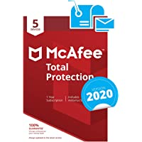 McAfee Total Protection 2020 | 5 Devices | PC/Mac/Android/Smartphones | Activation code by post