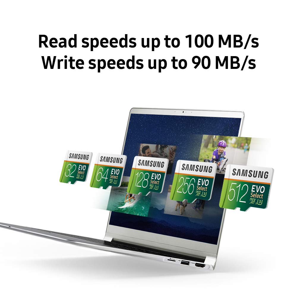 Samsung mb-me32ga/AM 32 GB MicroSDHC EVO Seleccione Tarjeta de Memoria con Adaptador 32 GB