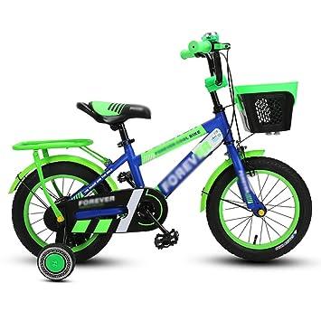 8c7982d02fc Bicicletas para niños Cochecito De Bebé Azul 3-4-6-8 Años Niños Y ...