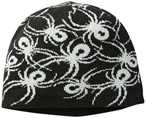 (Spyder Boys Mini Bugs Hat, One Size, Black/White)
