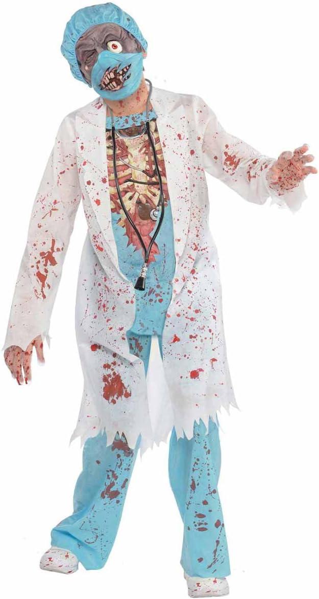 Disfraz Doctor Zombie para niños y adolescentes en varias tallas ...