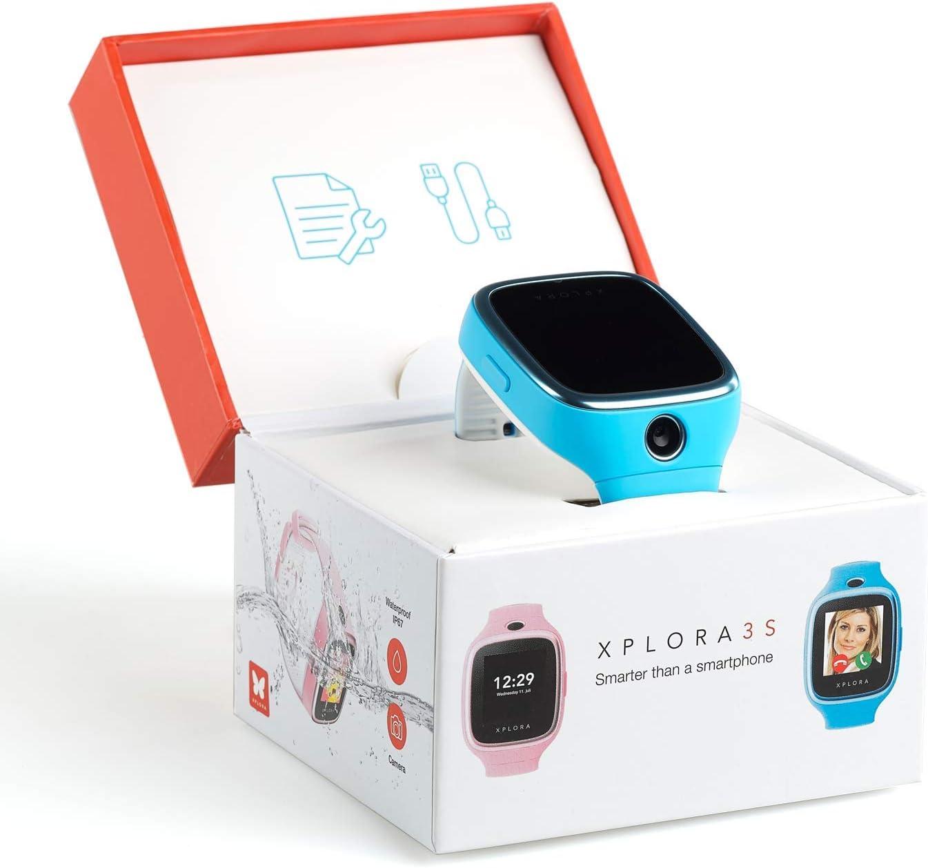 XPLORA 3S - Teléfono Reloj Resistente al Agua, RTOS, Bluetooth ...