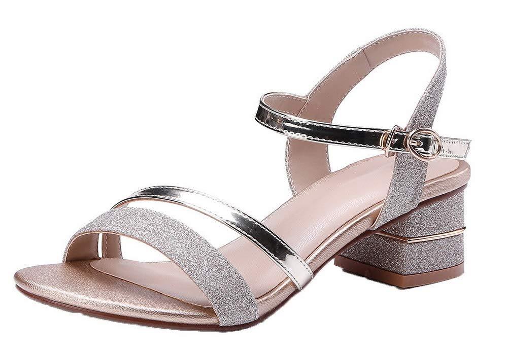 m. / mme voguezone009 mélange des matériaux des femmes femmes femmes de couleur boucle ouverte de façon attrayante tep sandales contraire au paragraphe gb4253 94915c