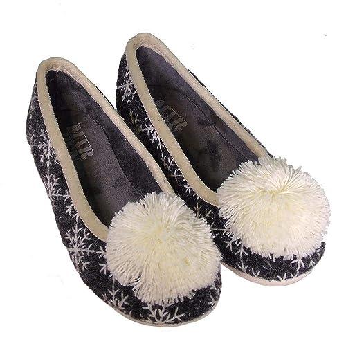 MARPEN Flakes Negro, Zapatilla de Andar por casa: Amazon.es: Zapatos y complementos