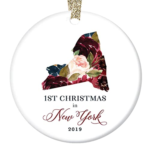 Amazon Com Christmas 2019 Ceramic Collectible Ornament 1st