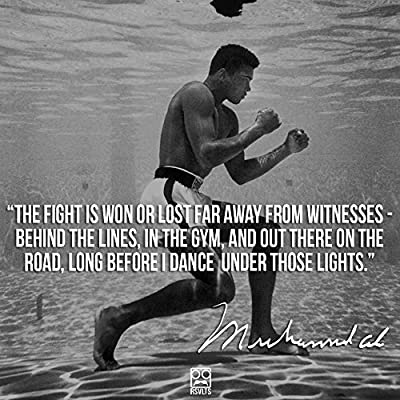 Get Motivated Muhammad Ali ¡s (Quotes) Poster 12 x 18 ¡±