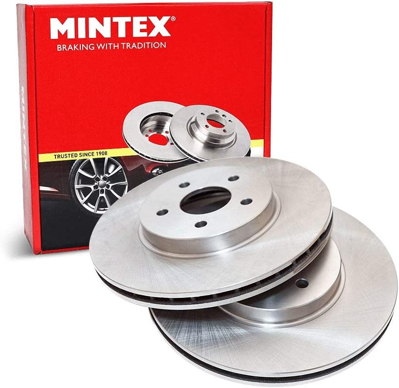 Mintex MDC1540 Front Brake Discs x2 312mm Diameter Vented 25mm Thickness