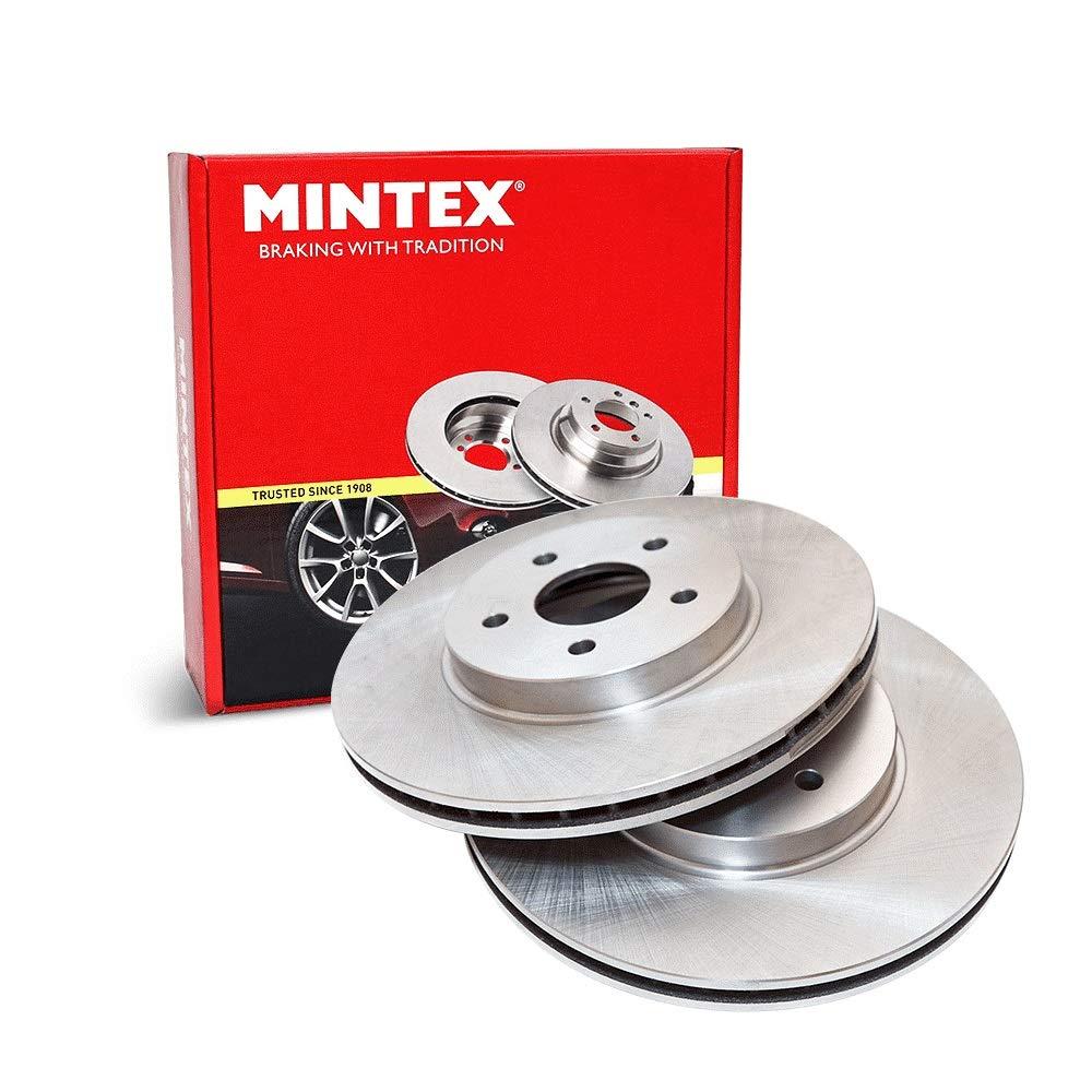 Mintex MDC385 Front Brake Discs x2 284mm Diameter Vented 22mm Thickness