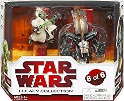 Star Wars Legacy Collection Geonosis Arena Showdown - Yoda & Droideka
