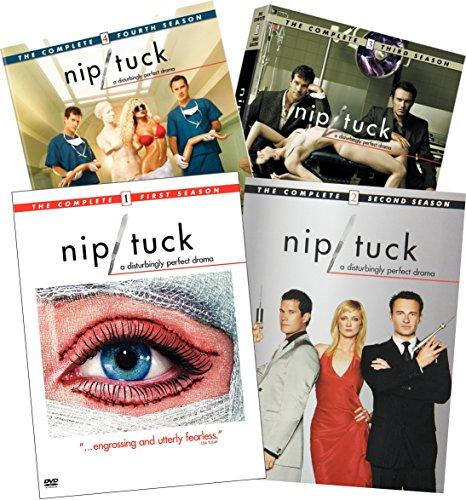 Nip/Tuck Complete Seasons 1-4 22-DVD Bundle