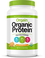 Orgain - Organic Protein Plant Based Powder Peanut Butter - 2.03 lbs.