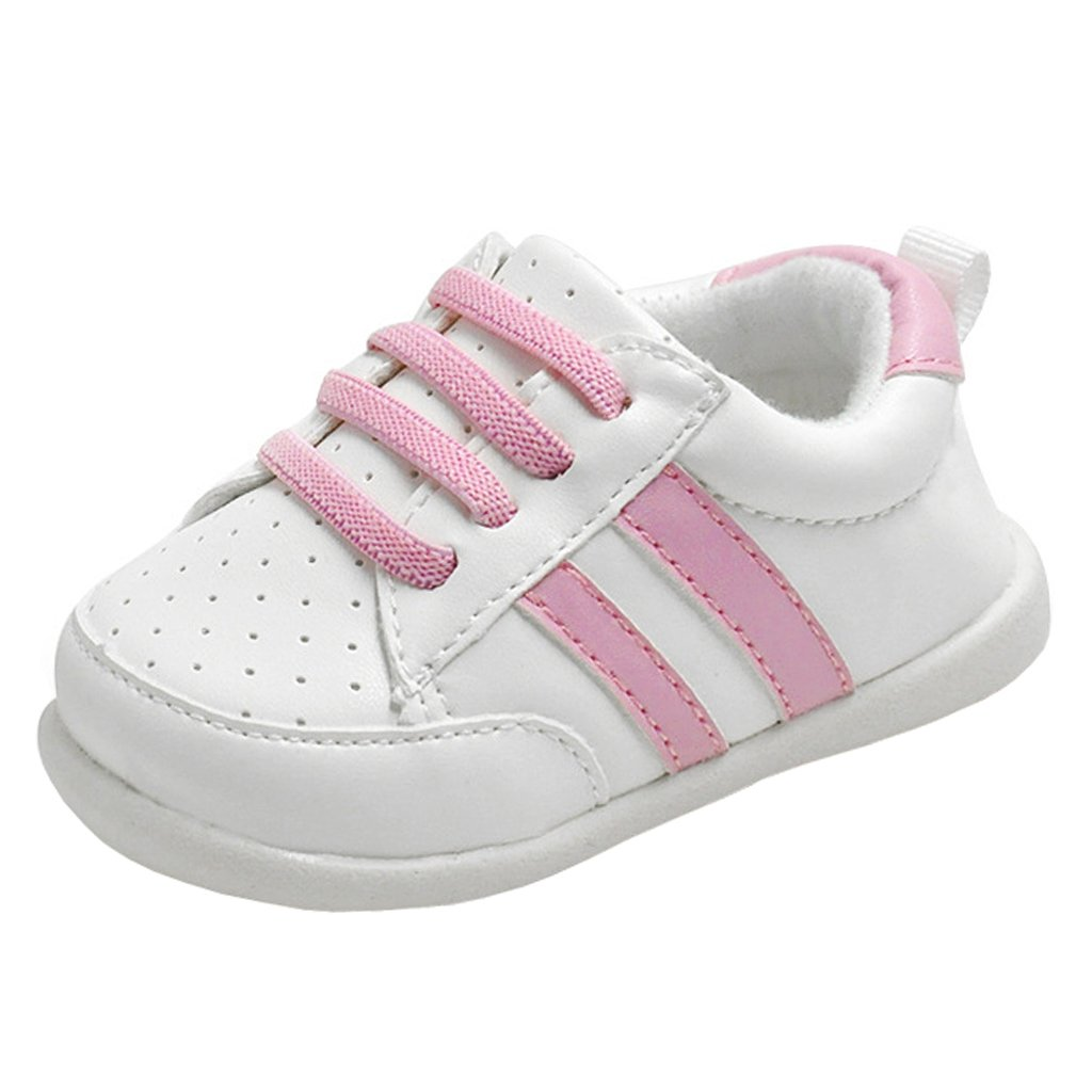 Annnowl Baby Girls Shoes Rubber Sole