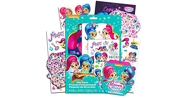 Amazon.com: Shimmer and Shine Party Favors Fun Pack ...