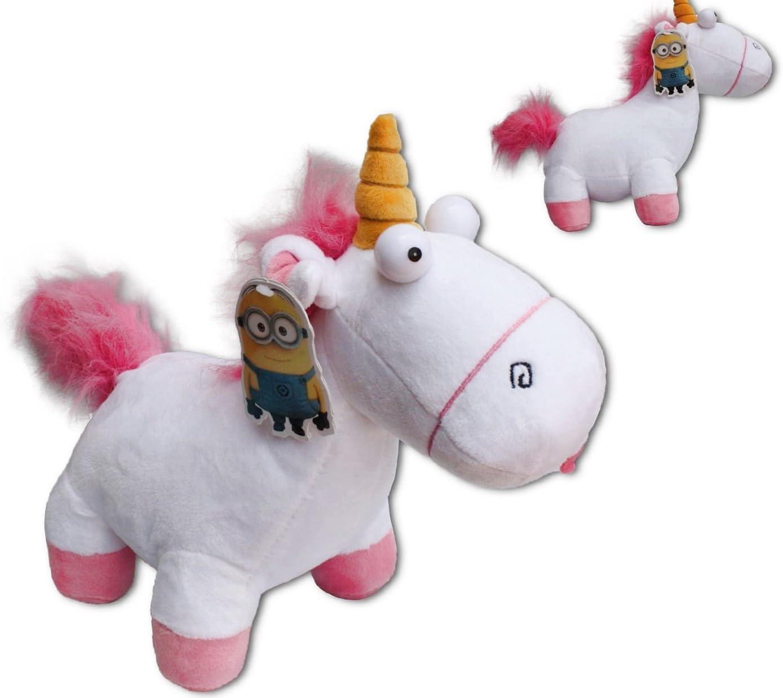 Peluche Licorne Les Minions Moi Moche et Mechant 18 cm Unicorn