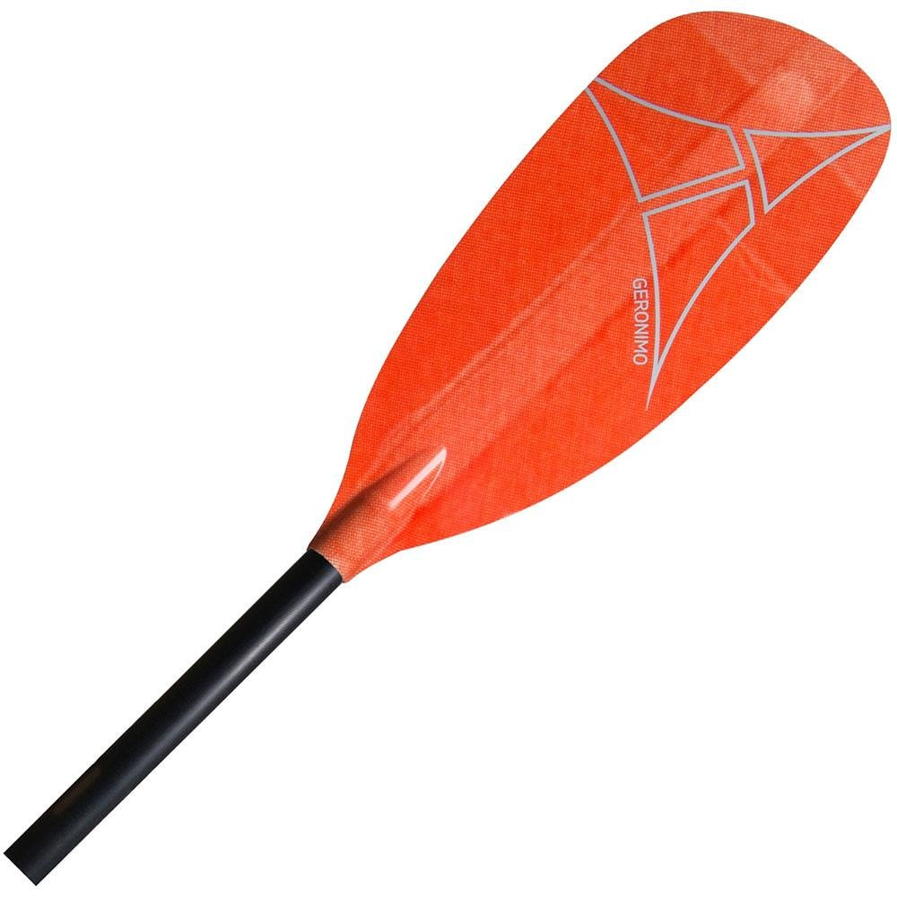 Adventure Technology at Geronimo Glass Straight Whitewater Kayak Paddle, 191cm/One Size, Red