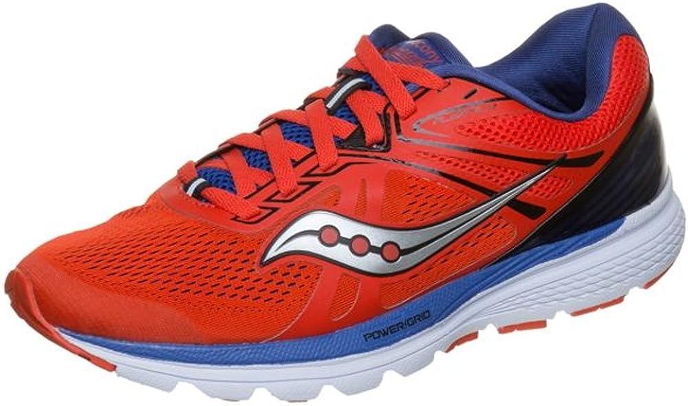 Saucony Swerve Rojo Azul S20329-3: Amazon.es: Zapatos y complementos