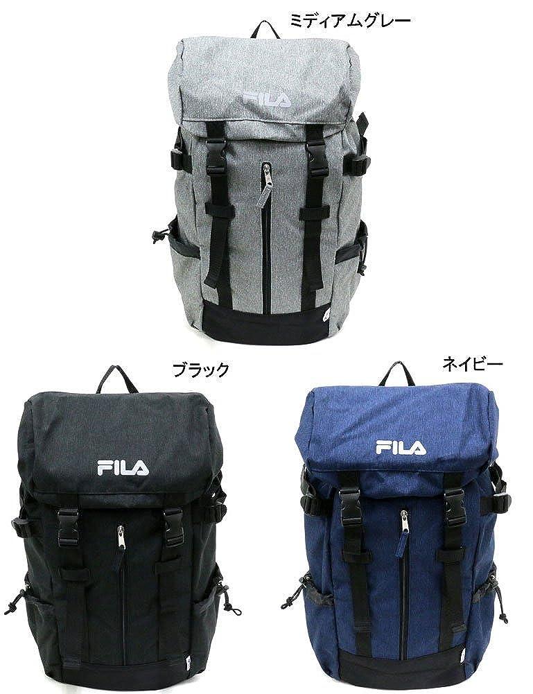 6af4d9754f78 Amazon.co.jp: FILA(フィラ) リュック ブランド ロゴ PC収納 ネイビー Free: シューズ&バッグ
