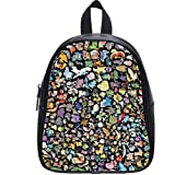 2015 Fashion Outdoor Backpack For Kids Diy Anime Series Pokemon Unique Children'S School Bags For Girls And Boys