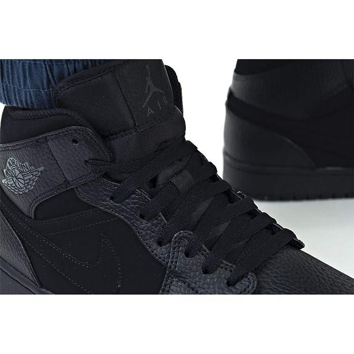 online retailer 432f5 f296d Nike Men s s Air Jordan 1 Mid Fitness Shoes  Amazon.co.uk  Shoes   Bags